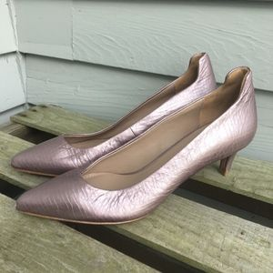 DONALD PLINER Metallic Purple BARI Pumps Sz.6
